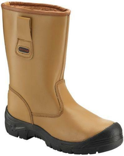 Worktough 118SM Fur Lined Leather Steel Toe  Rigger Boots - SALE