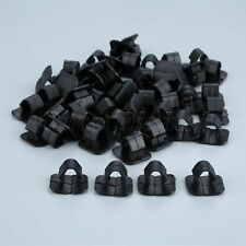 50PC Car Hood Cotton insulation lining Clips Fasteners Auto Plastic Clamp