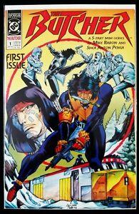 The-BUTCHER-1-of-5-1990-DC-Comics-FN-VF-Comic-Book