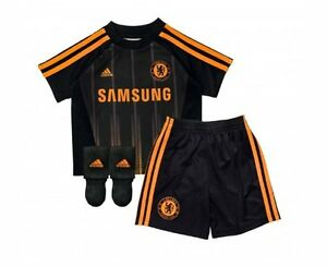 Adidas-Official-kid-039-s-Chelsea-Away-Mini-kit-2010-2011-Size-1-2-2-3-Years