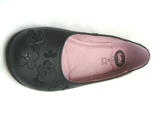 NEW BUCKLE MY SHOE LEATHER SHOES BEST ON  RRP £39.95 GIRLS LEATHER SHOES