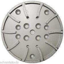 10 Concrete Grinding Head For Edco Blastrac Grinders 20 Seg 5060 Grit