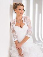 Wedding Top Lace Bridal Bolero Shrug Jacket S M L Xl Xxl
