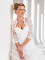 Wedding Top Lace Bridal Bolero Shrug Jacket S M L Xl Xxl