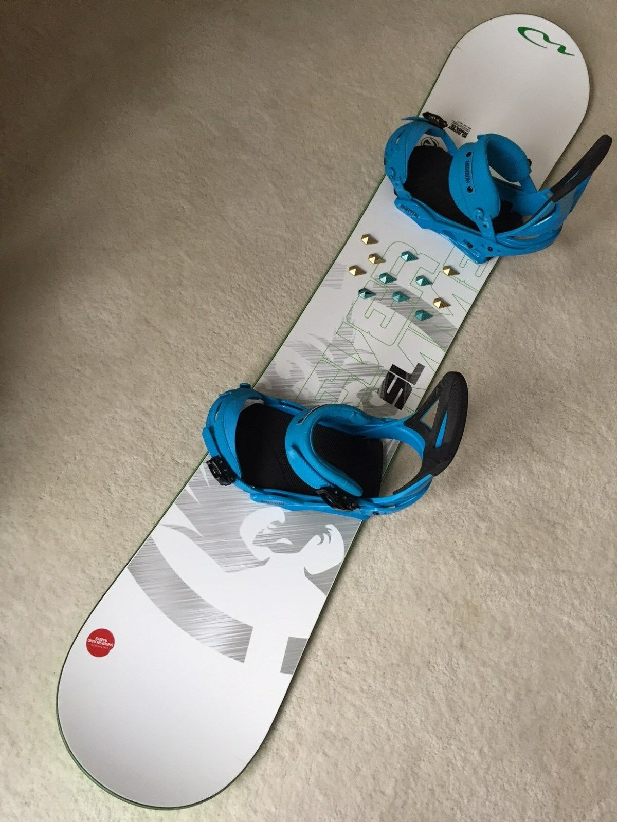 Never Summer SL 158cm Snowboard, Burton Mission Bindings