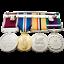 Large-Double-Regimental-Medal-Display-Case thumbnail 3