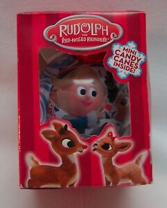 RUDOLPH-THE-RED-NOSED-REINDEER-MISFIT-TOYS-HERMIE-BALL-3-034-CHRISTMAS-ORNAMENT-NEW