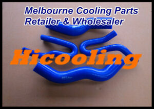 Blue-silicone-radiator-heater-hose-for-Rodeo-RA-3-0-Turbo-Diesel-2003-2007