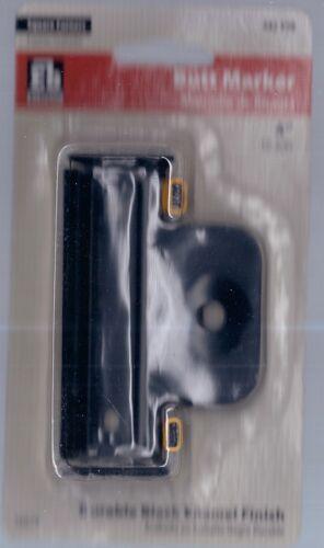 """442990 16079 Everbilt Square Corners Butt Marker 4/""""-Black Enamel Finish NEW"""