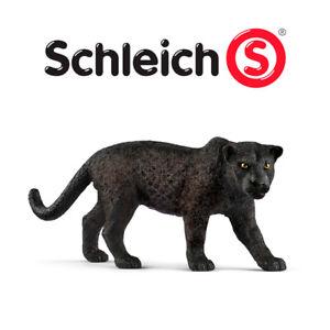 SCHLEICH-Pantera-Nera-Black-Panther-Animali-in-Resina-WILD-LIFE-14774-NUOVO