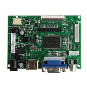 Hdmi-Vga-2AV-controladora-Junta-Pi-LCD-AT070TN90-92-94-LVDS-50-Pin-TTL-Monitor