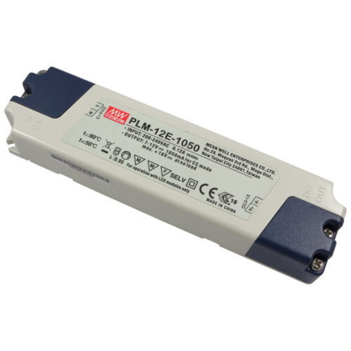 Meanwell plm-12e-1050 12w LED-conmutador 7v-12v 1050ma constante corriente 856523