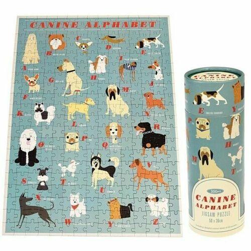 Canine alphabet puzzle dans un tube