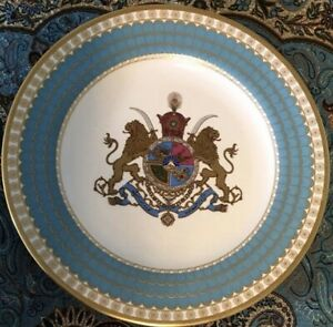 1971-Spode-Imperial-Plate-Pahlavi-Iran-Limited-Edition