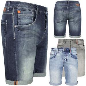 Sublevel Short Jeansshorts Herren Denim Jeans Bermuda kurze Sommer Hose OM179