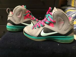 separation shoes b7813 6694a Image is loading Nike-Lebron-9-PS-Elite-SOUTH-BEACH-9