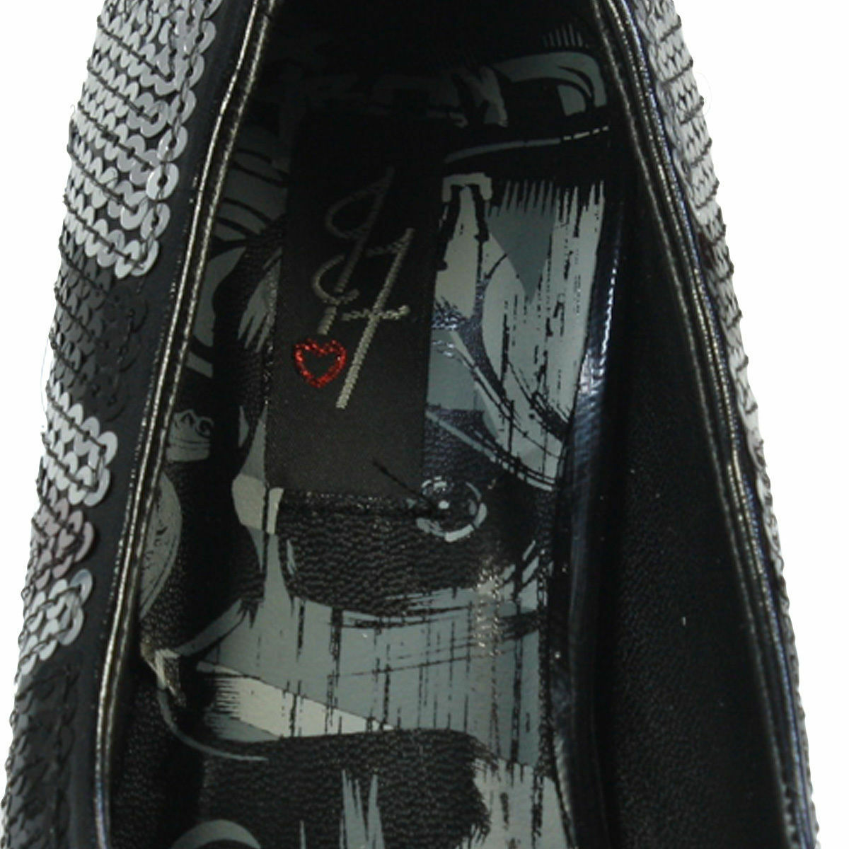 Iron Fist Abbey Dawn Avril Lavigne Jacked Jack Up Platform Pewter Union Jack Jacked Heels 7f188a