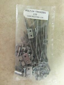6  110 Bolt On Circle Triggers  Body Gripper Traps Trapping Duke Victor