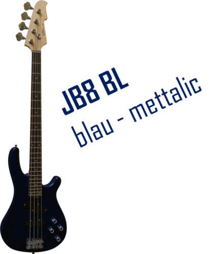 E-BASS JB8 IM SET/_FARBAUSWAHL/_MIT/_VERSTÄRKER B25/_STIMMGERÄT/_TASCHE/_BAND/_ZUBEHÖR