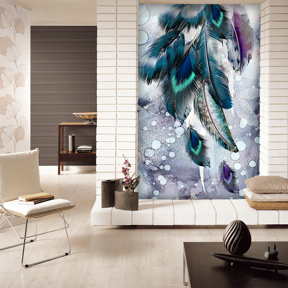 3D Anime Elf Feathers 5 Wall Paper Exclusive MXY Wallpaper Mural Decal Indoor AJ