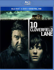 10 Cloverfield Lane (Blu-ray/DVD, 2016, 2-Disc Set, Includes Digital Copy) *New*