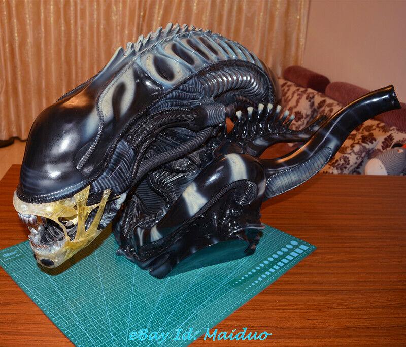 1 1 Modelo de Resina de cabeza Scale Alien Bust AVP GK Coleccionables Pintada Nueva