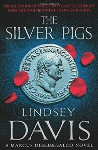 The-Silver-Pigs-Falco-01-by-Lindsey-Davis-NEW-Book-Paperback-FREE-amp-Fast-D