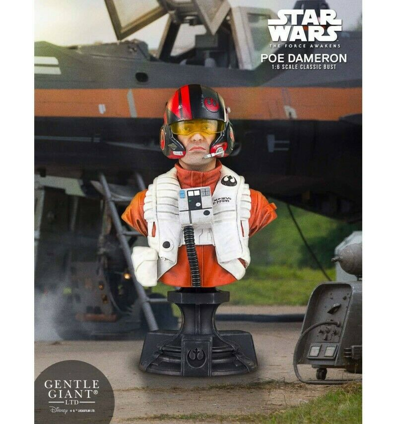 Star Wars Episode VII VII VII buste 1 6 Poe Dameron PGM Exclusive 16 cm a56a87
