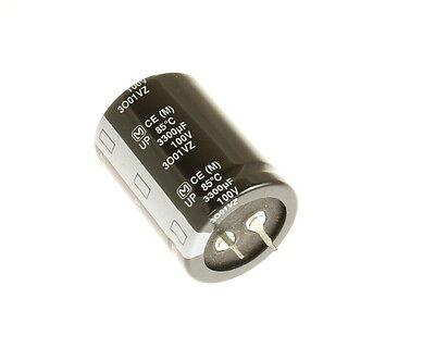 12x 3300uF 50V Radial Snap In Mount Electrolytic Capacitor DC 85C 3300mfd 50VDC