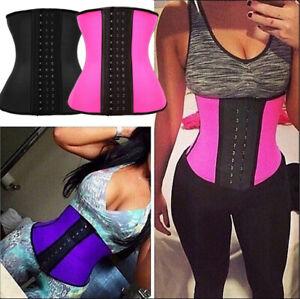 Women Body Waist Shaper Trainer Tummy Tight Cincher Girdle Corset Belt Slim Vest