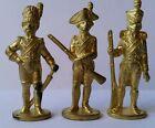 Soldatini Kinder Metalfiguren Serie Soldati Napoleonici 50 mm Dorato/Gold