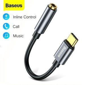 Baseus-USB-TIPO-C-A-3-5mm-Adattatore-AUX-per-Cuffie-di-tipo-C-Jack-auricolare-Cavo
