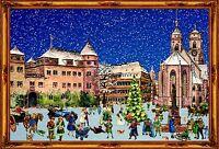 Richard Sellmer Verlag - Traditional German Paper Advent Calendar - Stuttgart