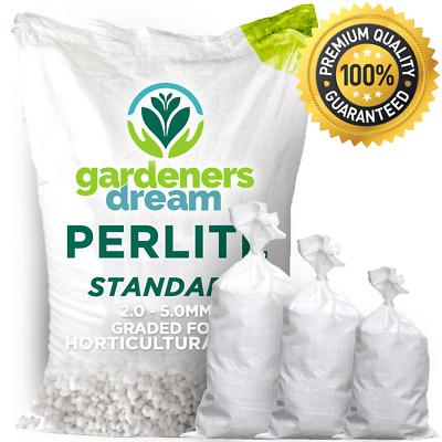 Perlite Medium Grade 0-6mm for Compost Mixing//Hydroponics Various Sizes