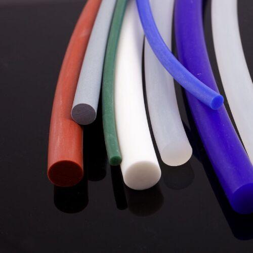 SILICONE RUBBER CORD,RED OXIDE /& WHITE 60 SHORE 1.5MM-10MMDIA  FDA GRADE 200C