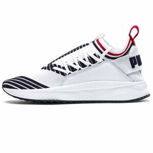 21b229ceafba57 Image is loading Puma-Tsugi-Jun-Sport-Stripes-Shoes-White-Men