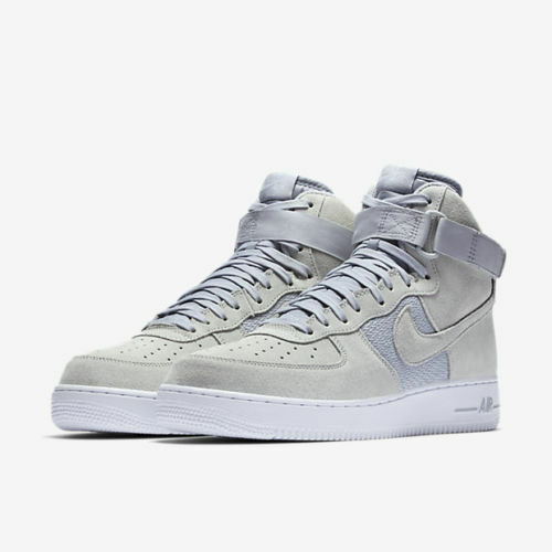 Mens Nike Air Force 1 High ´07 315121-041 Pure Platinum Brand New Size 7.5
