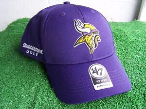 Image is loading Bridgestone-Golf-Minnesota-Vikings-Purple-Golf-Hat-Cap- cc586a309