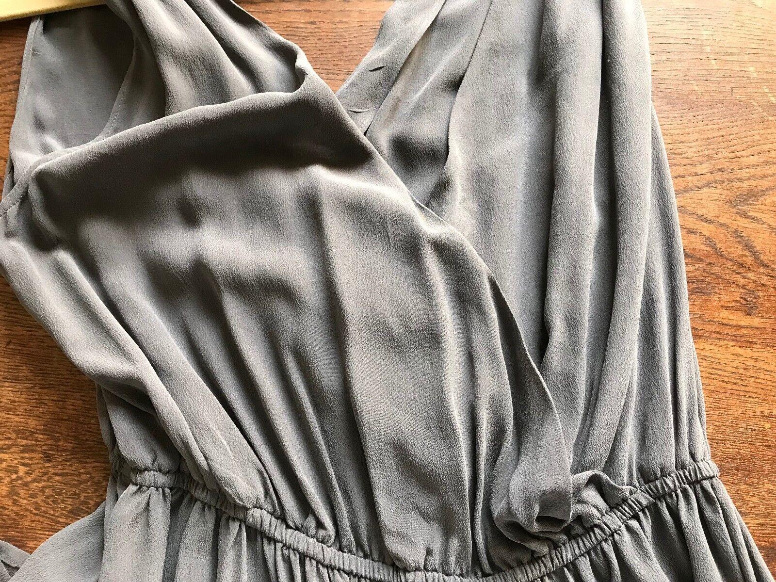 Joie Grey Sleeveless Silk Dress Dress Dress - Size S 76ea7b