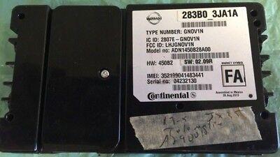 2013 Infiniti JX35 telematics module 283B0 3JA1A