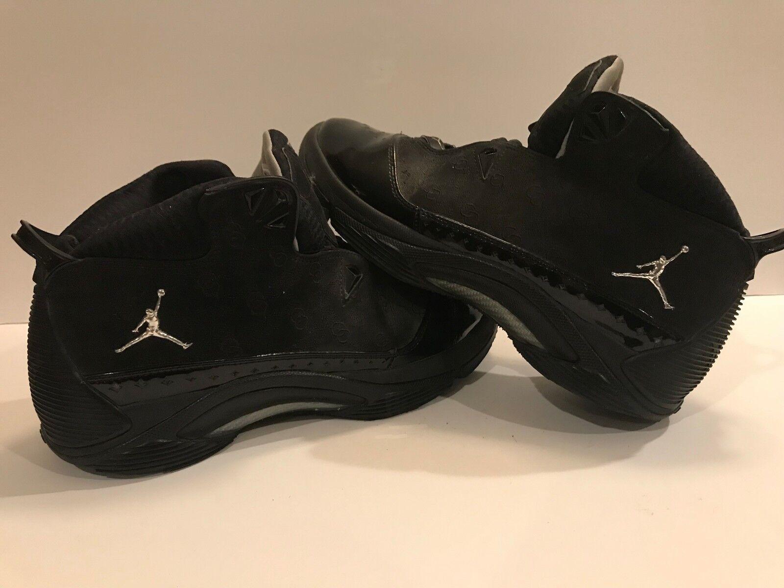 fd72af4b2a9536 Jordan Jordan Jordan Melo M5 Blackout Size 12 100% Authentic effa06 ...