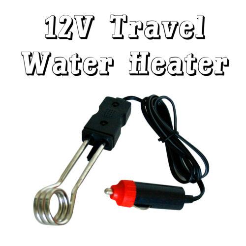 12V Travel Auto Car Water Boiler Heater Element Tea Coffee Noodles Soup 200W HQ