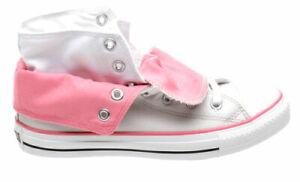 Star Two Fold Grey/Pink Hi Shoe 522222