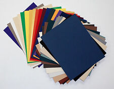 Matboard Mat Board 11x14, 25 Pack, No Opening, Uncut, Solid Assorted Colors