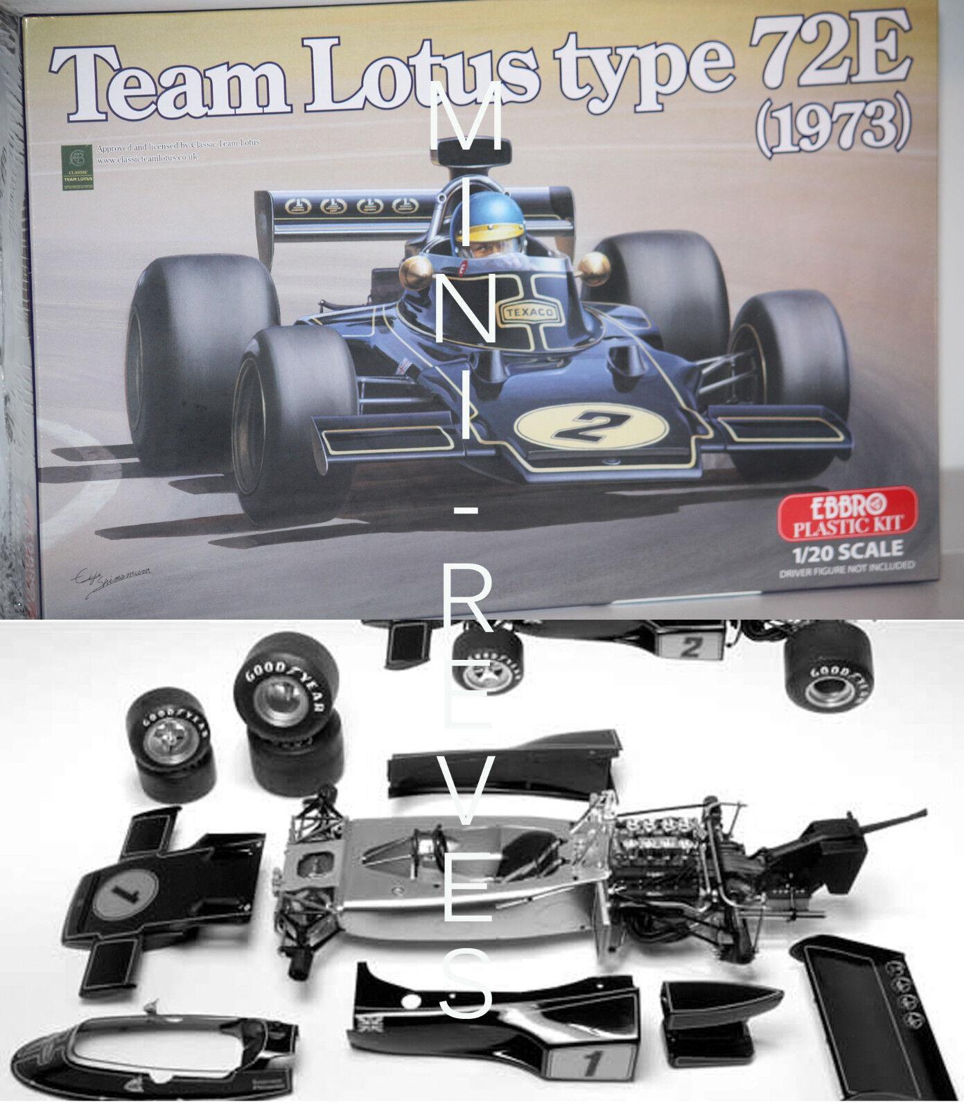 Ebbro F1 Lotus Tipo 72e 1973 120 Ebr003