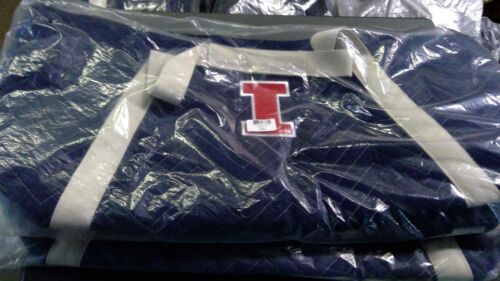 NCAA Chev-Stitch Weekender Tote University of Illinois Fighting Illini Navy*