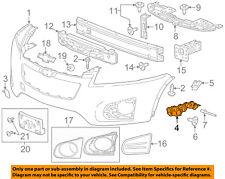 Chevrolet GM OEM 15-16 Trax Front Bumper Grille-Side Bracket Left 42488474