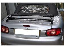 Mazda MX5 MK2 Luggage Boot Rack - Stunning Black Italian Rack (Also fits MK1&3)
