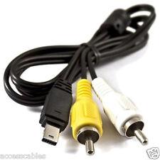 AV Cable for Casio Exilim EX-Z100, EX-Z150, EX-S10, EX-S12, EX-FH20 Cameras