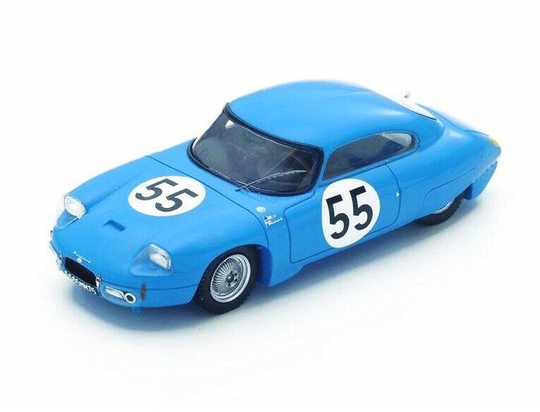 CD Panhard n.55 le mans 1962 Boyer-Verrier s4712 Spark 1 43 newin a box